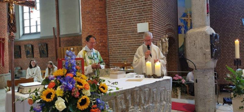 Verabschiedung von Pater Walter Körbes